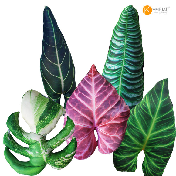 Rare Leaf Throw Pillows (5 DESIGN OPTIONS)