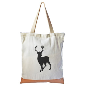 Deer Graphic Tote bag