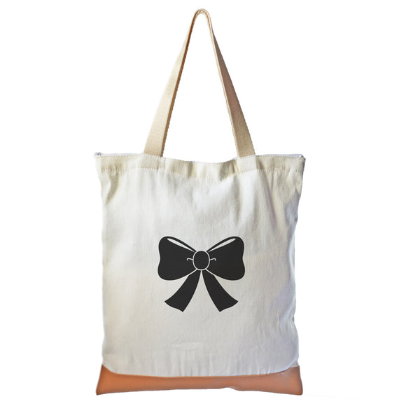 Ribbon Graphic Tote bag