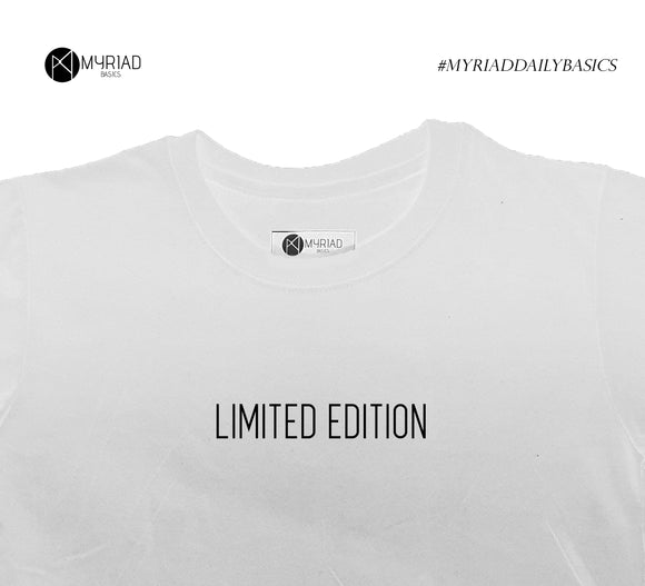 Round Neck T-Shirt - Limited Edition (White)