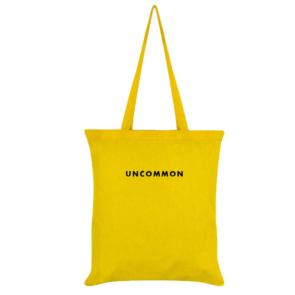 Colored Minimalist Tote bag - Uncommon (Yellow)