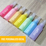 Spray Bottles 50ml (8 Color options)