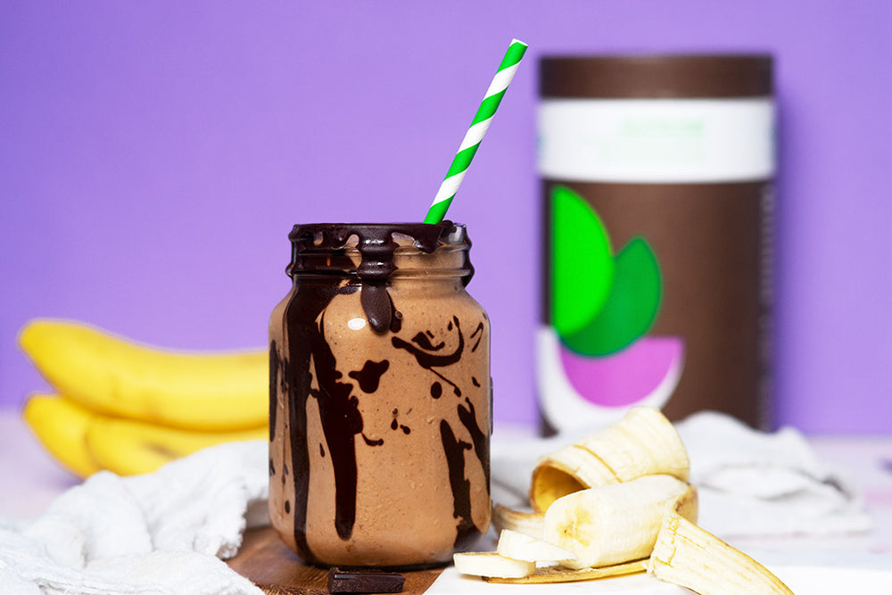 Chocolate Banana Protein Shake