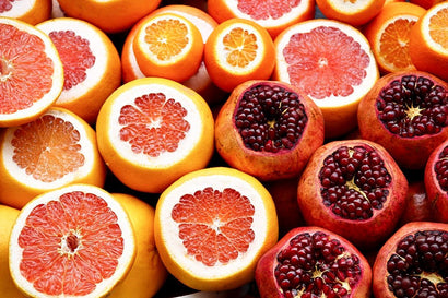 Orange & Pomegranate Are Rich In Vitamin C.