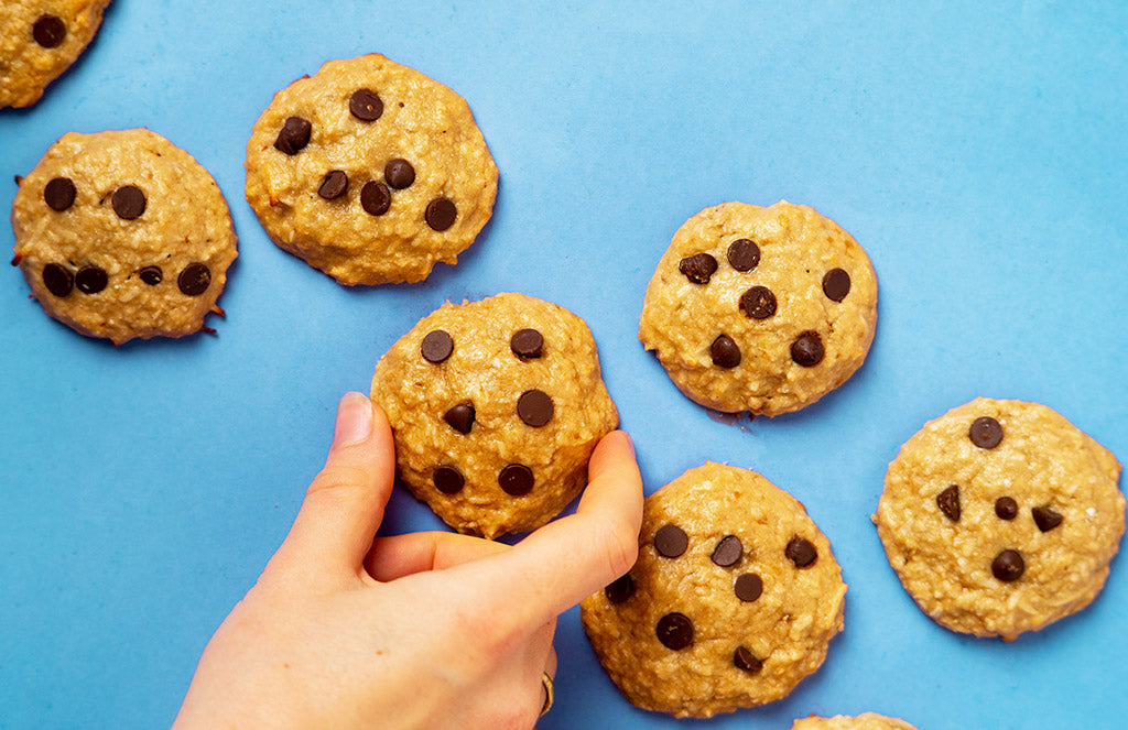 Banana Protein Cookies - Suggested Presentation.