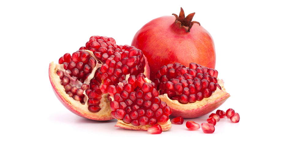 Healthy juicy pomegranate seeds.