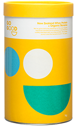 Go Good Organic Organic Banana Whey Protein Concentrate.