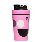 Go Good Pink Stainless Steel Protein Shaker.