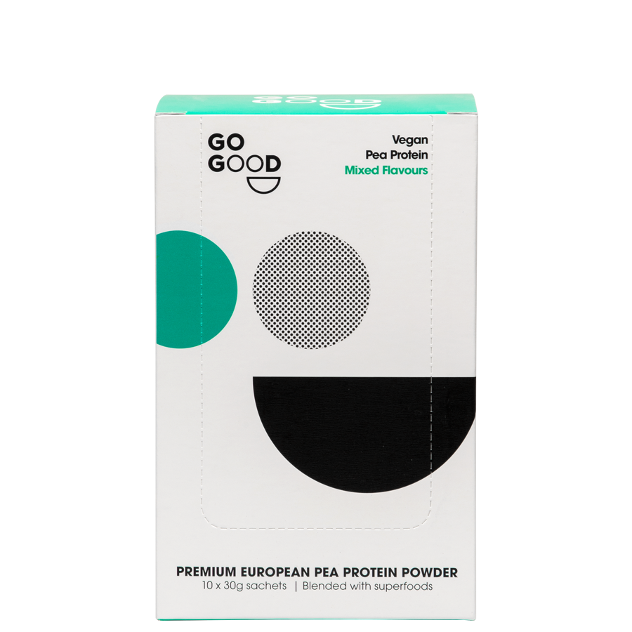 Go Good Plant Protein Samples 10-Pack.