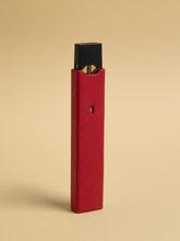 Red Leather Juul Sleeve-REDLEASLE