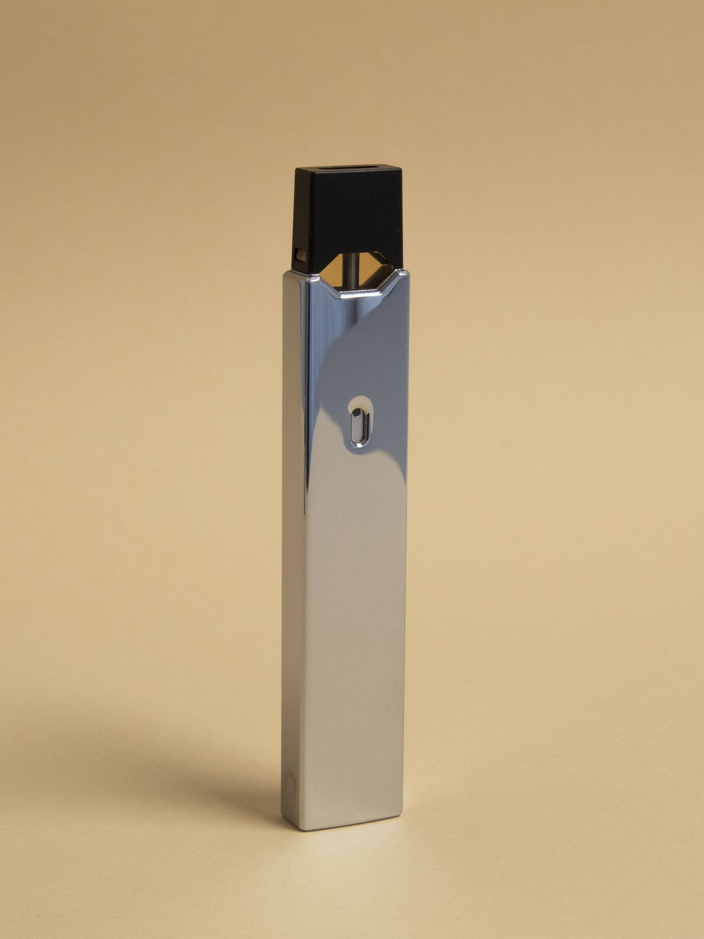 Polished Silver Juul Sleeve-SLVMETSLE