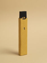 Yellow Leather Juul Sleeve-YLWLEASLE