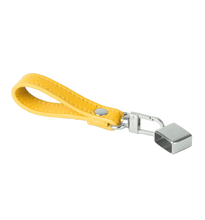 Yellow Leather Juul Keychain