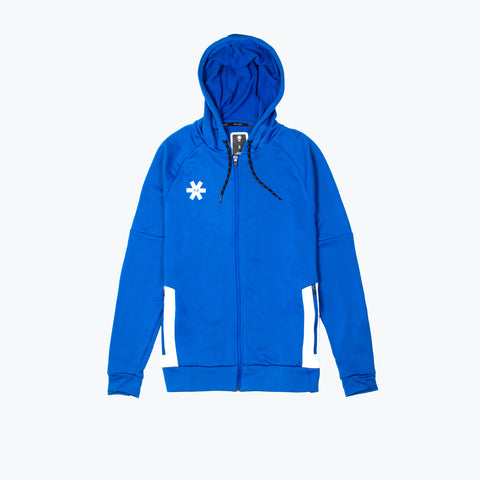 MENS TRAINING ZIP HOODIE - ROYAL BLUE