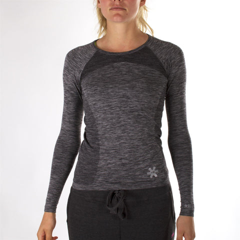 Osaka Hockey - Women Tech knit - Long Sleeve - Grey Melange