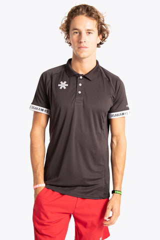 MENS POLO JERSEY - BLACK