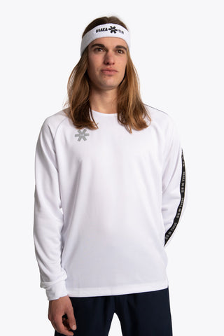 OSAKA MEN TRAINING SWEATER WHITE