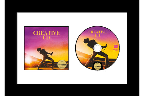 CD Cover Art and Disc Frame