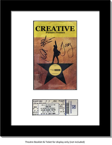 Theatre Media and Ticket Frame