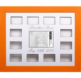 Personalized 12 Month Photo Collage - 16x20 Candy Color Frames