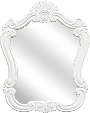 Venice White Accent Mirror
