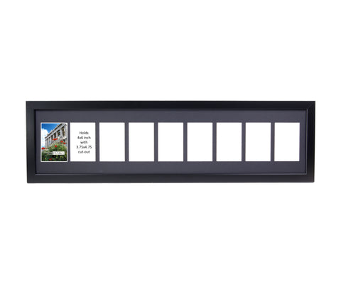 4x6-inch 2-14 Opening Black Picture Frame – creativepictureframes.com