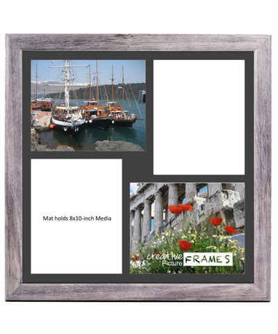8x10 Inch 2 4 Opening Driftwood Picture Frame