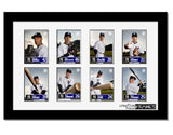Eight Baseball Card Frame