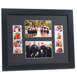 2-2x6 Photo Booths with 2-4x6 Photos Frame