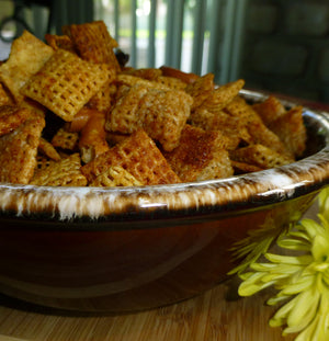 Crunchy Italian Cereal Snack Mix