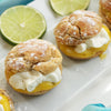 Key Lime Cream Puffs
