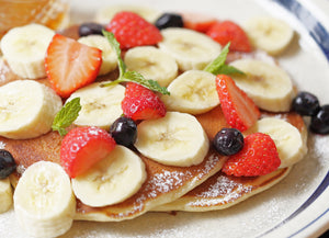 Sugar Free Light & Fruity Pancakes