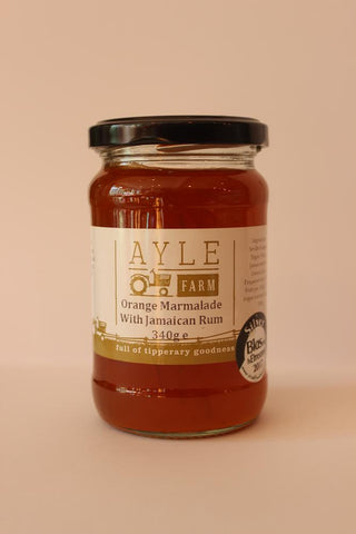 Ayle Farm Orange Marmalade with Jamaican Rum
