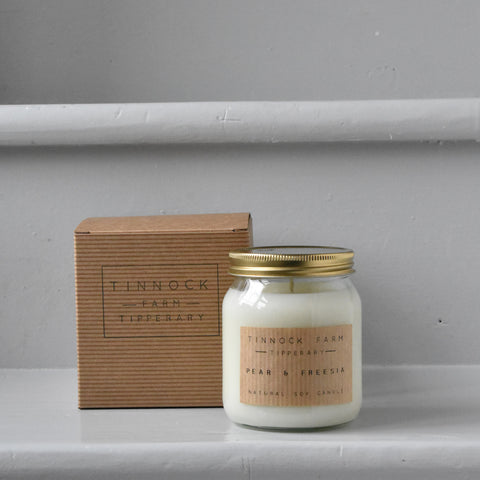 Pear & Freesia Candle