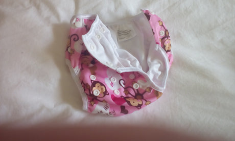 Swim Nappies.  Little Monkeys , 3 adjustable domes for sizing