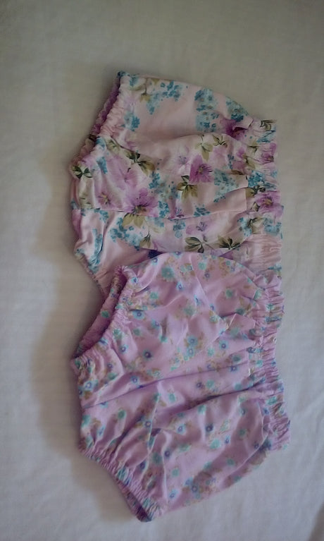 Handmade Cotton Baby Bloomers 0-3mths