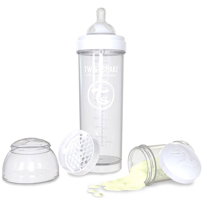 Anti-Colic 330ml Bottle White  Twistshake