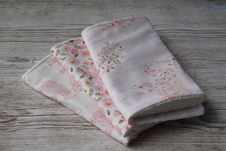 Piece Baby Burp Cloth Set