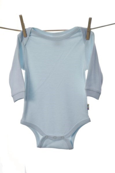 Snooky, Long Sleeve Body Suit Pink/Blue