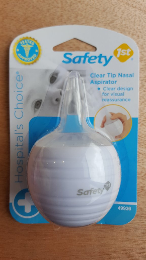 Safety First Clear Tip Nasal Aspirator