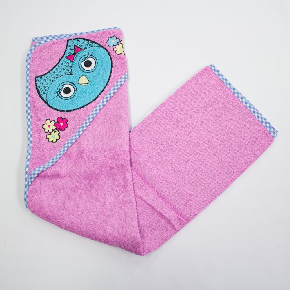 Owl Hooded Baby Towel by Baby Bow