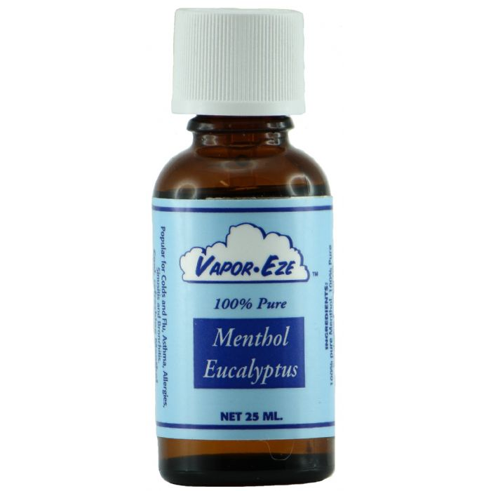 Waterless Vaporizer Menthol & Eucalyptus Essential Oil