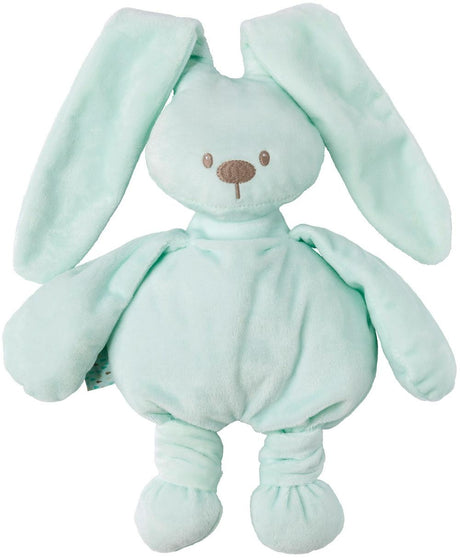 Lapidou Cuddly Rabbit , Sky Blue Mint, Pink Grey