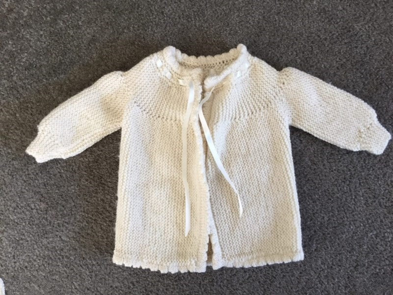 Newborn Cardigan Cream