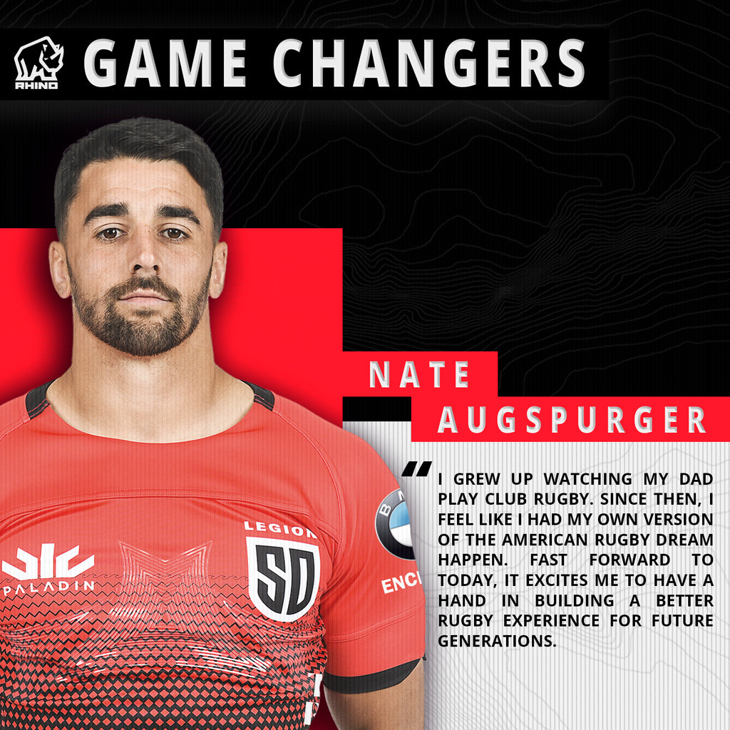 Major League Rugby Game Changers: Nate Augspurger