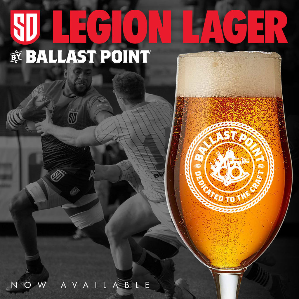 San Diego Legion and Ballast Point Brewing Co. Introduce Legion Lager