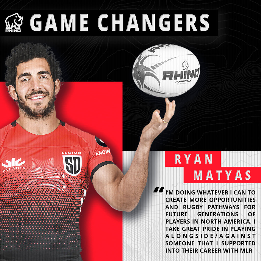 Major League Rugby Game Changers: Ryan Matyas