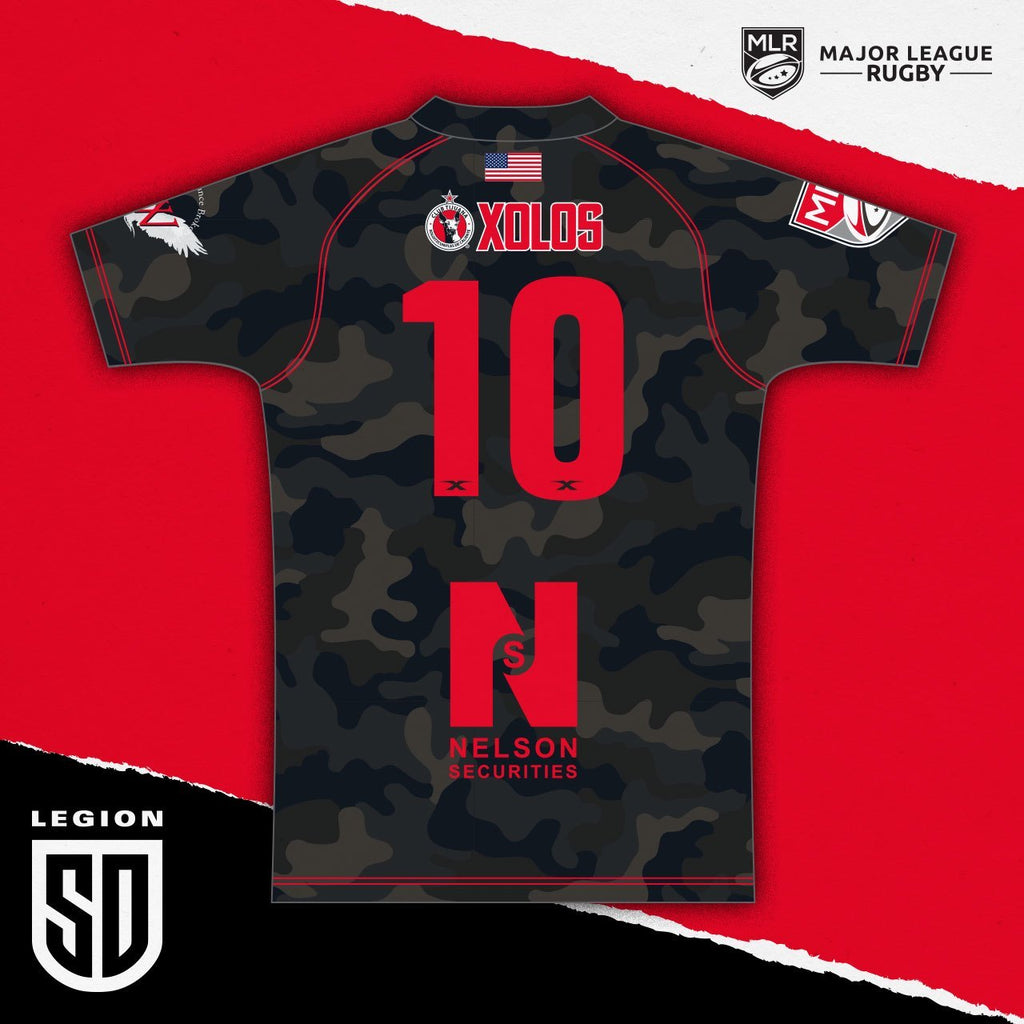 LIMITED EDITION SD LEGION CAMO JERSEY BENEFITING THE TRAVIS MANION FOUNDATION