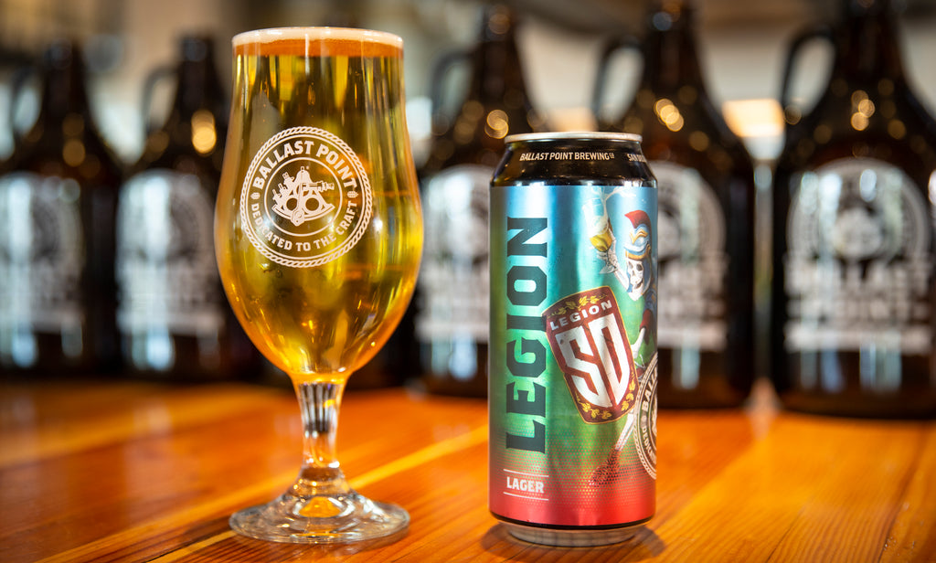 San Diego Legion and Ballast Point Brewing Co. Release Legion Lager in Cans