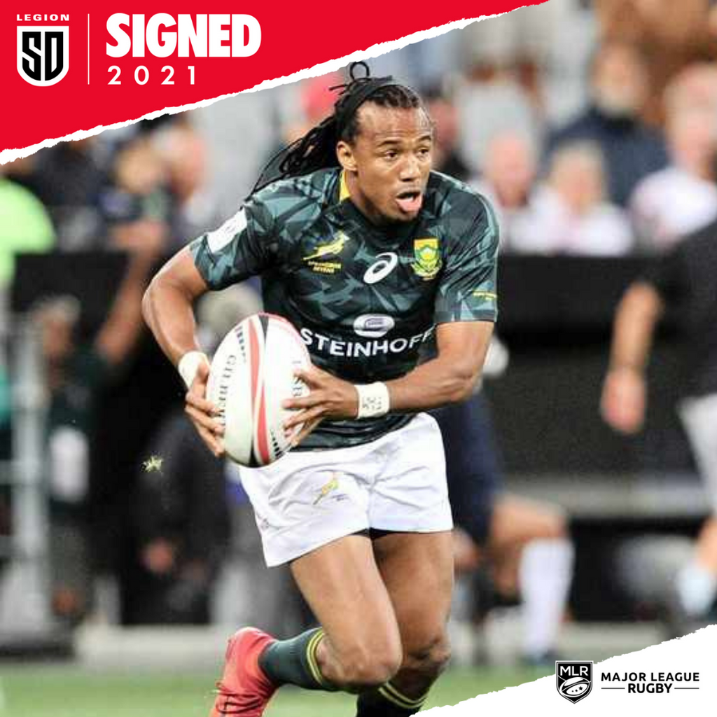 San Diego Legion welcomes two new players - Bjorn Basson & Cecil Afrika
